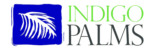 Logo for Indigo Palms subdivision in Windsor Hill Plantation