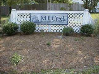 Entrance to Mill Creek