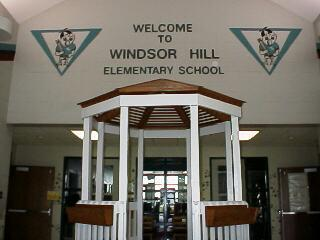 Windsor Hill Elementary School Foyer