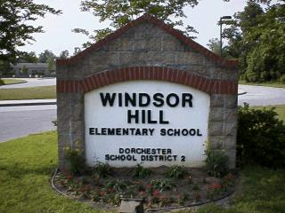 Windsor Hill Elementary School Sign